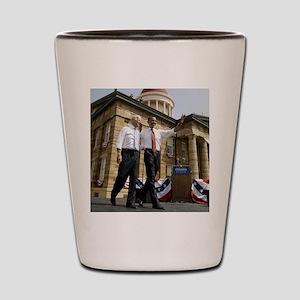 Obama & Biden Shot Glass