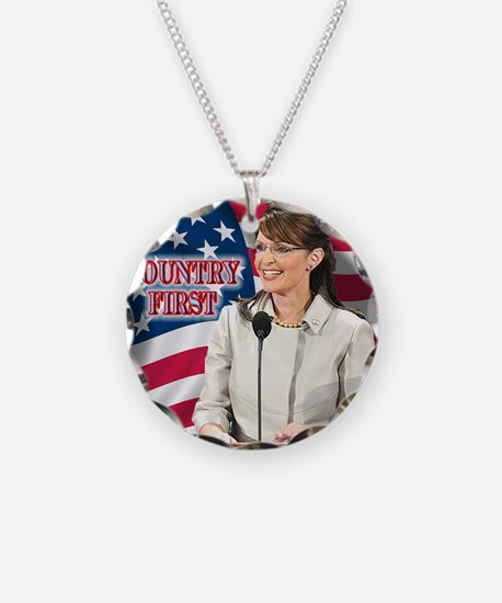 Country First Necklace