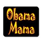 Obama Mama Dark Mousepad