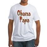 Obama Papa Fitted T-Shirt