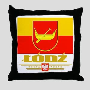 Lodz Throw Pillow