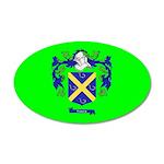 Clan Furey 38.5 x 24.5 Oval Wall Peel