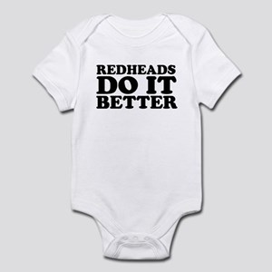 Redheads Do It Better Infant Creeper
