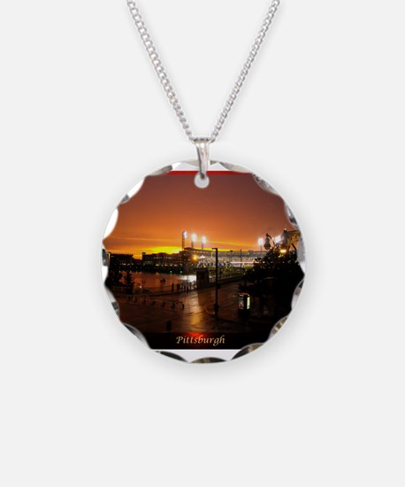 Pittsburgh Sunset Necklace