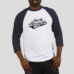 Jack Russells Rule Baseball Jersey