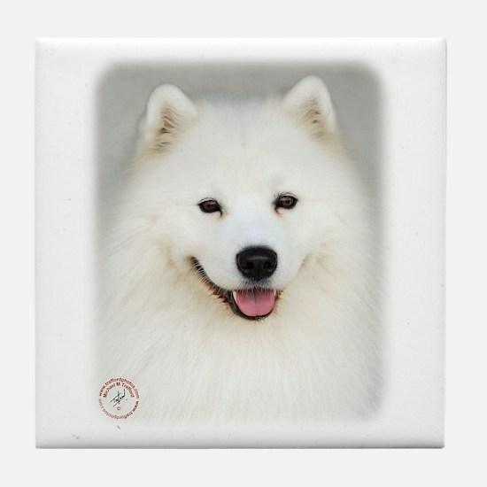 Samoyed 9Y566D-019 Tile Coaster
