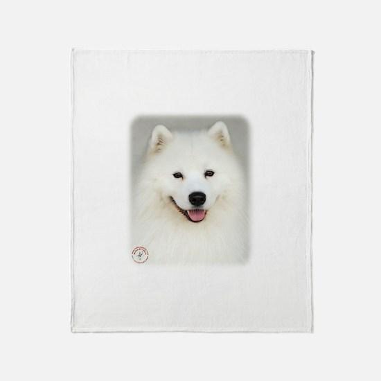 Samoyed 9Y566D-019 Throw Blanket