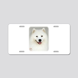 Samoyed 9Y566D-019 Aluminum License Plate