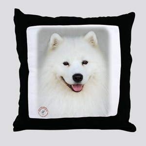 Samoyed 9Y566D-019 Throw Pillow