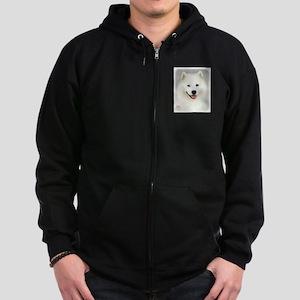 Samoyed 9Y566D-019 Zip Hoodie (dark)