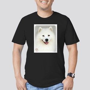 Samoyed 9Y566D-019 Men's Fitted T-Shirt (dark)