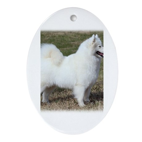 Samoyed 9Y602D-004 Ornament (Oval)