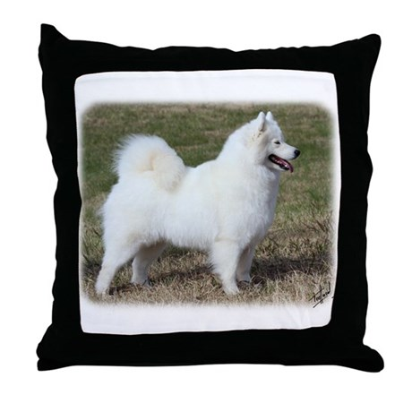 Samoyed 9Y602D-004 Throw Pillow
