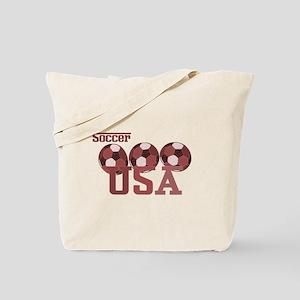 Soccer USA Tote Bag