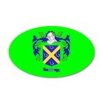 Clan Furey 22x14 Oval Wall Peel