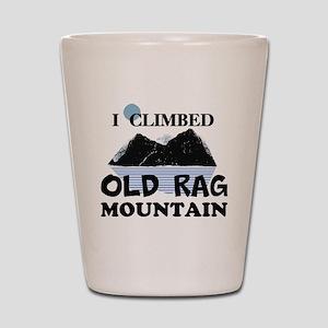 I Climbed Old Rag Mountain Shot Glass