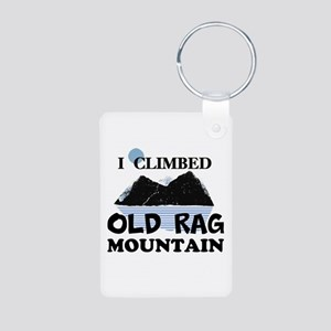 I Climbed Old Rag Mountain Aluminum Photo Keychain