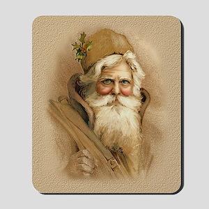 Old World Santa - Tan Mousepad