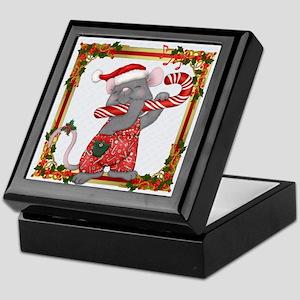 Santa Mouse Tunes Keepsake Box