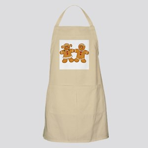 Gingerbread Man & Woman BBQ Apron