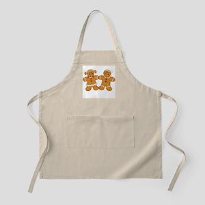 Gingerbread Man & Woman BBQ Apron