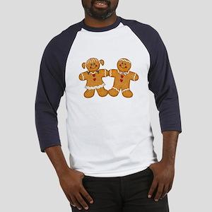 Gingerbread Man & Woman Baseball Jersey