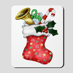 Christmas Stocking & Gifts Mousepad