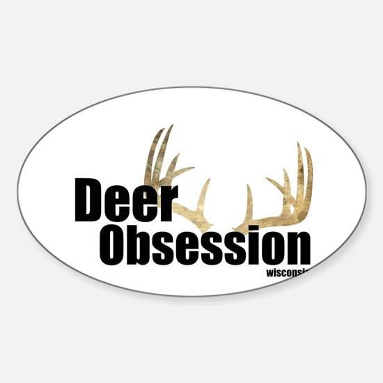 Deer Obsession Logo Decal