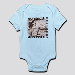 Mustang Tees and Gifts Infant Bodysuit