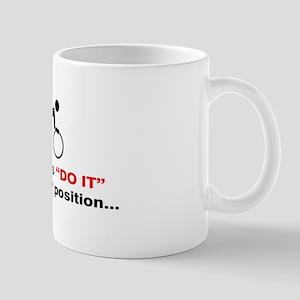 """Aero Position"" Mug"