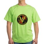 Minutemen Border Patrol Green T-Shirt