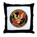 Minutemen Border Patrol  Throw Pillow
