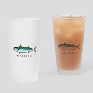 Mackerel Drinking Glass