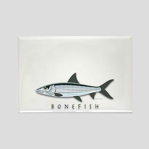 Bonefish Rectangle Magnet