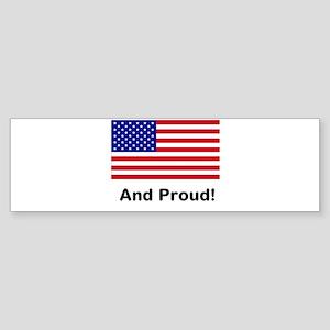 Proud Sticker (Bumper)