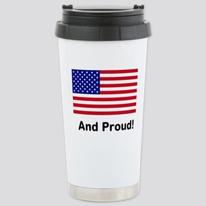 Proud Stainless Steel Travel Mug