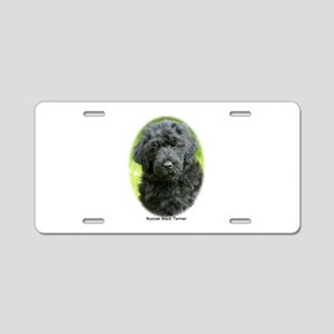 Russian Black Terrier 9T091D-030 Aluminum License