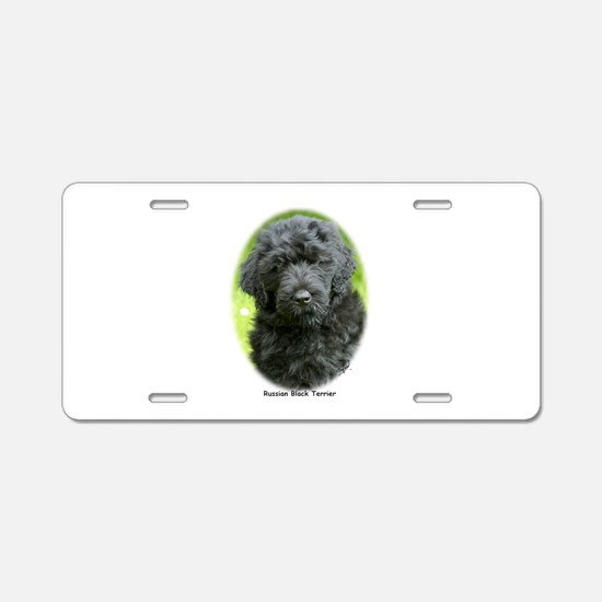 Russian Black Terrier 9T091D-030 Aluminum License