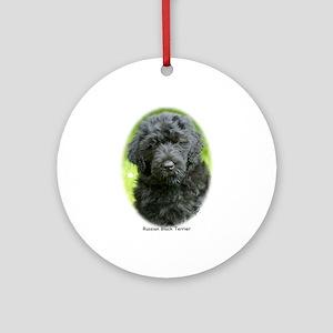 Russian Black Terrier 9T091D-030 Ornament (Round)
