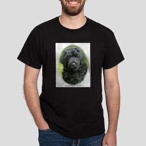 Russian Black Terrier 9T091D-030 Dark T-Shirt