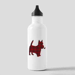 Scottish Terrier Tartan Stainless Water Bottle 1.0