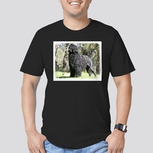 Portuguese Water Dog 9Y510D-008 Men's Fitted T-Shi