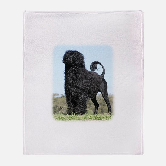 Portuguese Water Dog 9Y510D-061 Throw Blanket