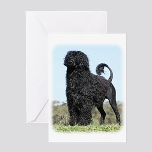 Portuguese Water Dog 9Y510D-061 Greeting Card
