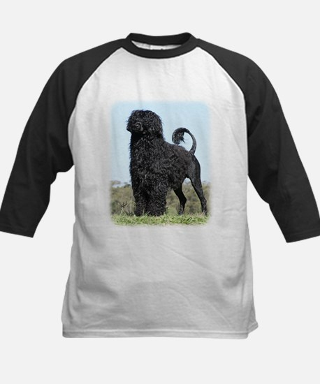 Portuguese Water Dog 9Y510D-061 Kids Baseball Jers