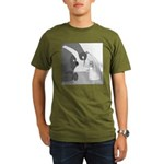 Banana Stand (no text) Organic Men's T-Shirt (dark