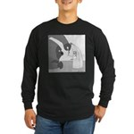 Banana Stand (no text) Long Sleeve Dark T-Shirt