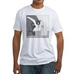 Banana Stand (no text) Fitted T-Shirt