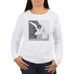 Banana Stand (no text) Women's Long Sleeve T-Shirt