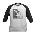 Banana Stand (no text) Kids Baseball Jersey
